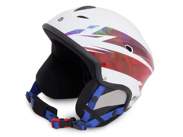 Шлем сноубордический Sky Monkey Shiny White