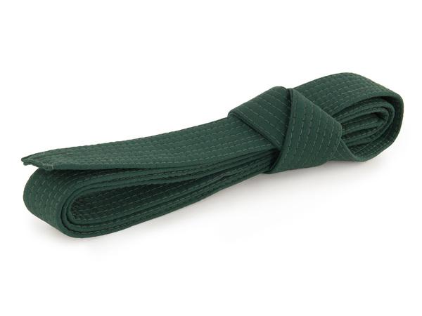 Пояс для кимоно зеленый