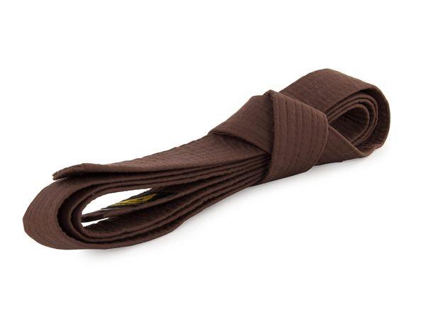 Пояс для кимоно коричневый