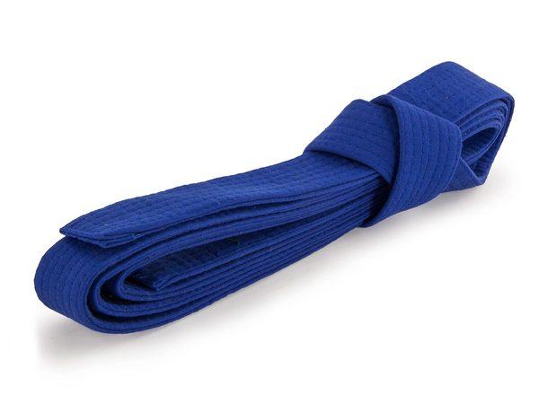 Пояс для кимоно синий