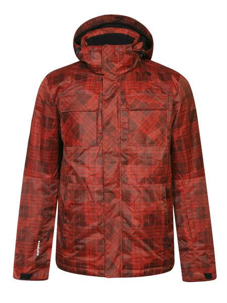 Куртка горнолыжная мужская Icepeak красная