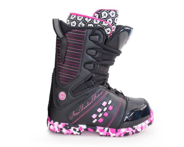 Ботинки для сноуборда Atom Bad Girl black/pink