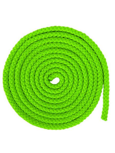 Скакалка гимнастическая зеленая