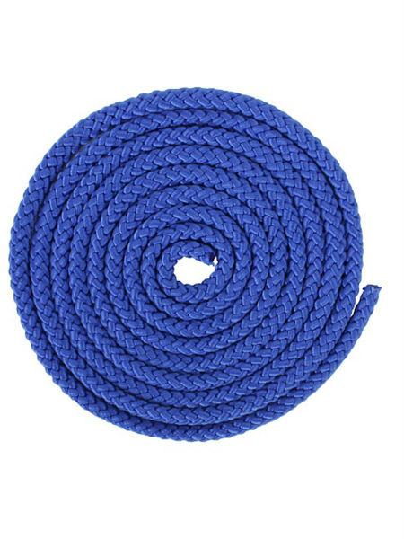 Скакалка гимнастическая синяя