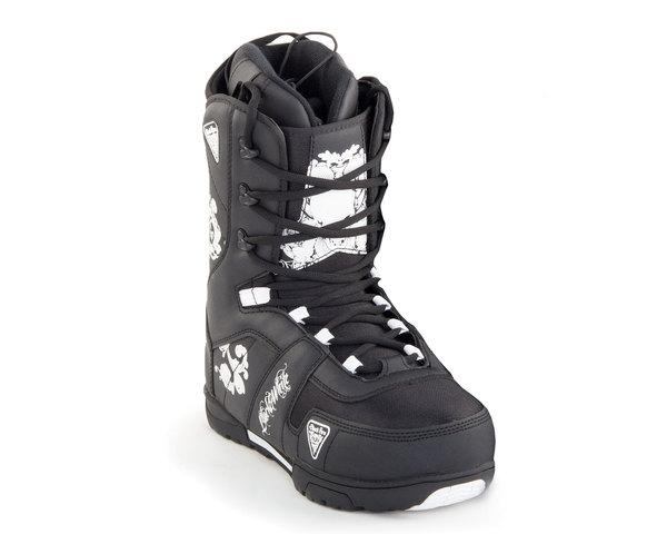 Ботинки сноубордические Black Fire 2014-15 B&W black 2QL