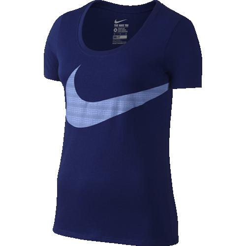 Футболка женская Nike Scoop Exploded Swoosh