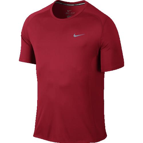 Футболка мужская Nike Dri-FIT Miler красная
