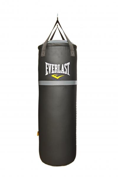 Мешок боксерский EVERLAST 100*35 см 30кг черный