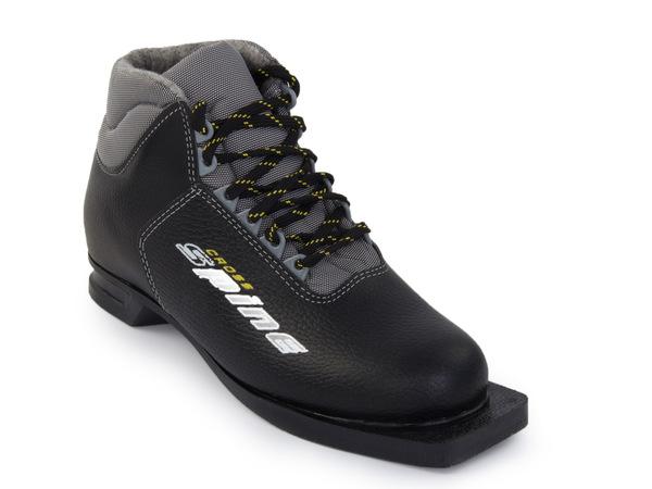 Ботинки лыжные Spine Cross кожа NN75