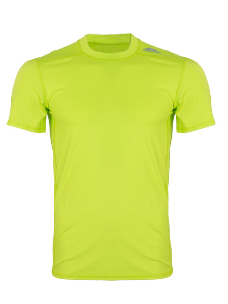 Футболка мужская Adidas Techfit Base зеленая