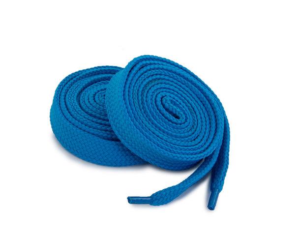 Шнурки Corbby плоские синие 120 см