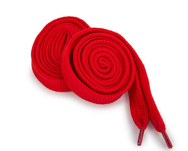 Шнурки Corbby плоские красные 120 см