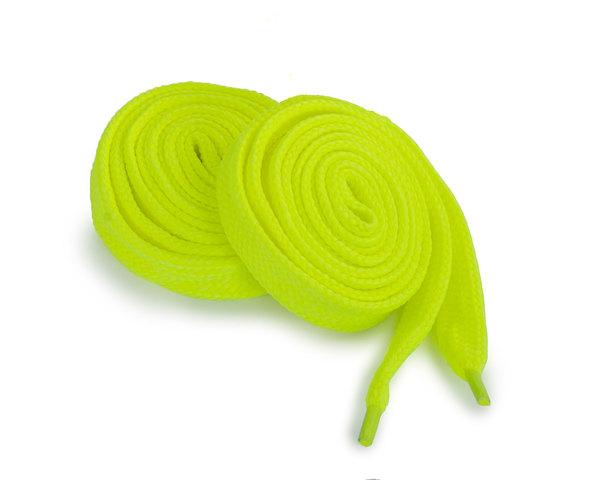 Шнурки Corbby плоские желтые 120 см