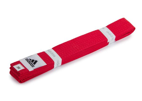 Пояс для кимоно Club красный 280 см