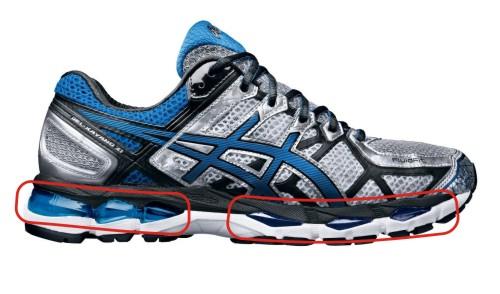 679c00b4e У многих производителей это специальные технологичные материалы и вставки ( Nike Air, Nike Zoom, Asics Gel, Adidas Boost и т.д.