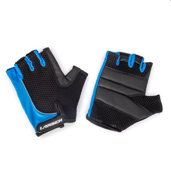Велоперчатки Larsen 01-1232 синие