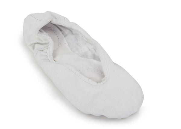 Балетки кожаные Grishko 03001 В белые