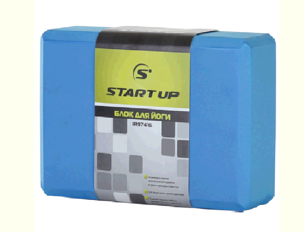 Блок для йоги Iron Master IR97416, размер 22,8 х 15,2 х 7,6 см