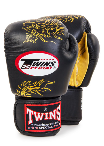 Перчатки боксерские Twins FBGV-6G 10oz