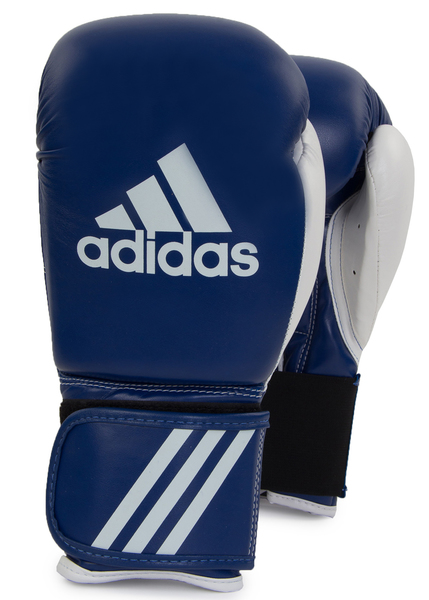 Перчатки боксерские Adidas Response синие/белые