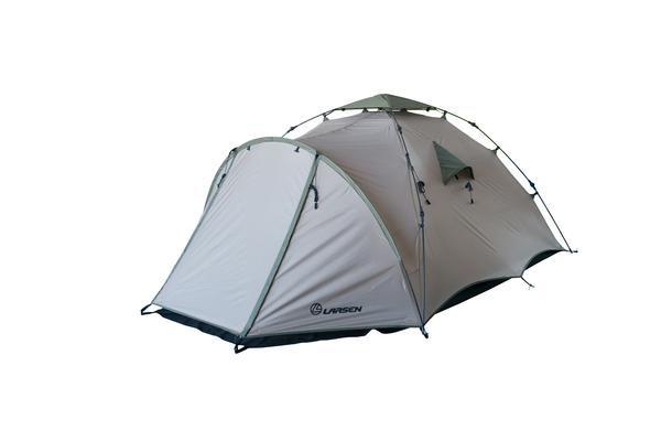 Палатка трехместная быстросборная Larsen Flash