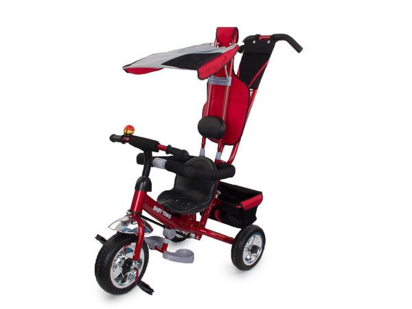 Велосипед трехколесный детский с толкателем 5173А