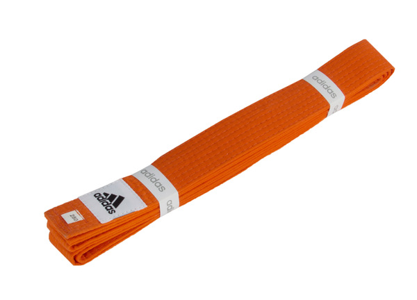 Пояс для кимоно Club оранжевый 280 см