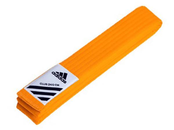 Пояс для кимоно Club оранжевый 260 см