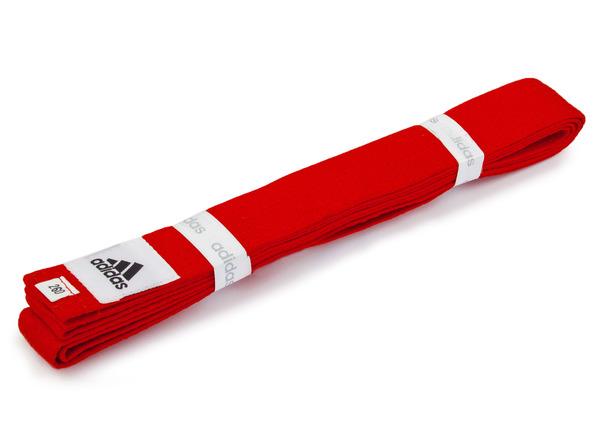Пояс для кимоно Club красный 260 см