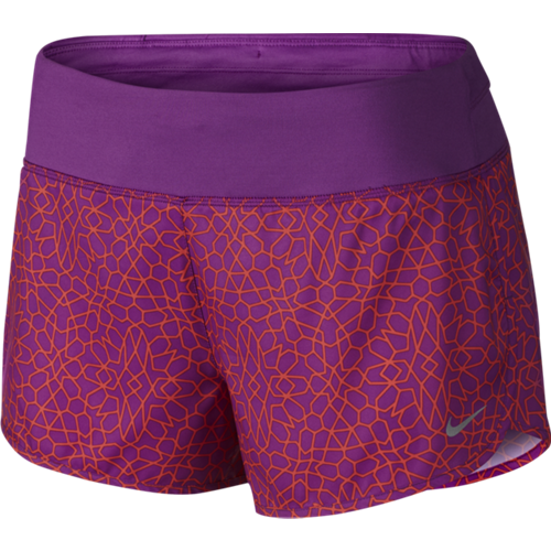 "Шорты женские  Nike Starglass Rival 3"" фиолетовые"