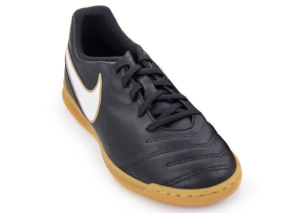 Бутсы детские Nike Tiempo Rio III IC черные