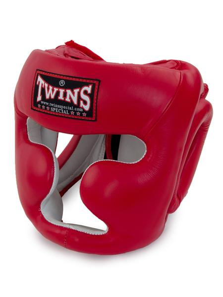 Шлем боксерский Twins HGL — 3 красный