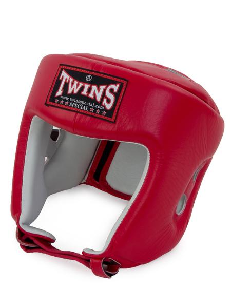 Шлем боксерский Twins HGL-4 красный