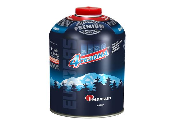Баллон газовый (пропан-бутан-изобутан) 450 гр.