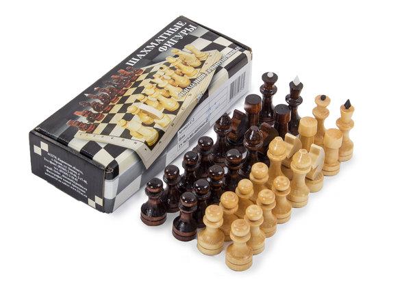 Шахматы лакированные без доски