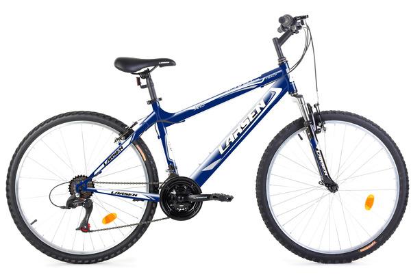 Велосипед горный Larsen Track 26 синий