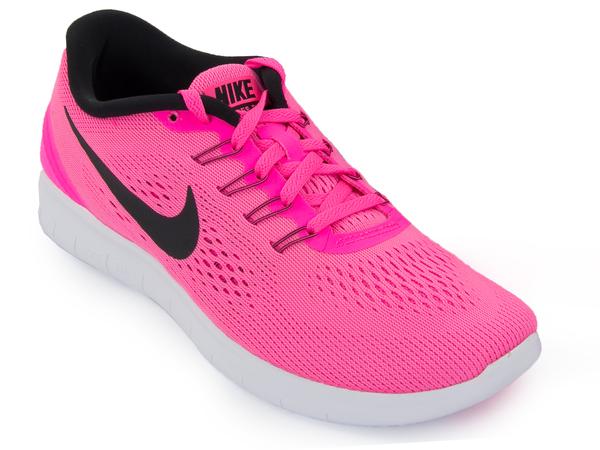 Кроссовки женские Nike Free RN розовые