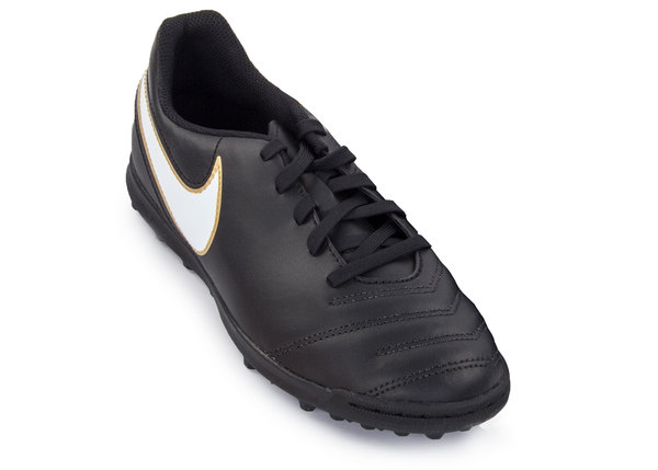 Бутсы детские Nike Tiempox Rio III TF черные