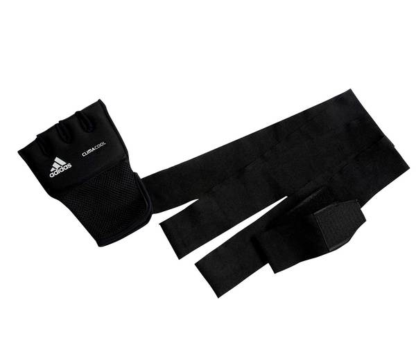 Накладки с бинтом Quick Wrap Glove черные