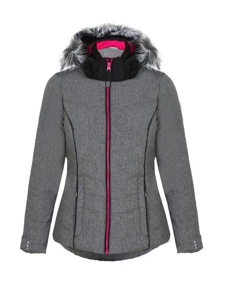 Куртка горнолыжная детская Icepeak серая