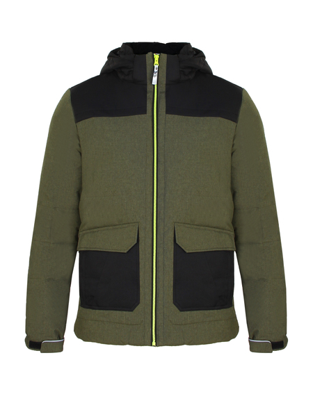 Куртка утепленная детская Icepeak зеленая