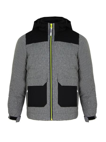 Куртка утепленная детская Icepeak серая
