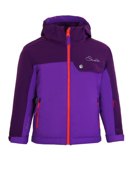 Куртка горнолыжная детская Dare2b фиолетовая