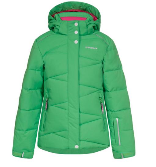 Куртка горнолыжная детская Icepeak зеленая