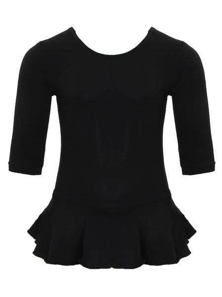 Комбидресс с юбочкой для девочек  AS4 черный