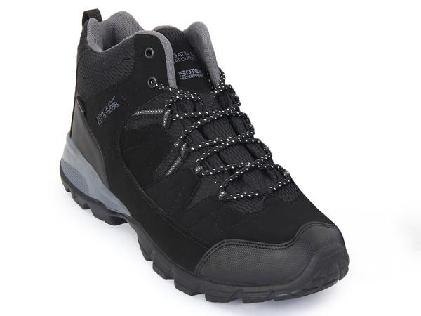 Ботинки мужские Regatta Holcombe черные