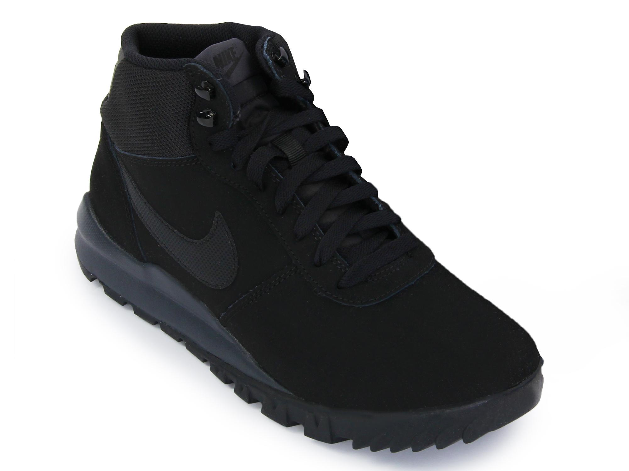 5b5d932f Ботинки утепленные мужские Nike Hoodland черные - Сеть спортивных ...