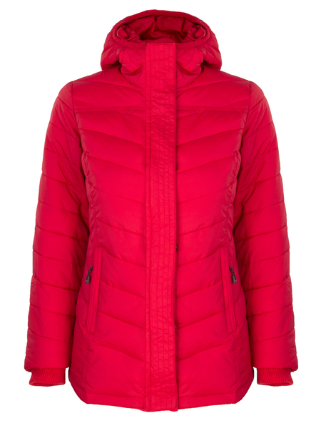 Куртка утепленная женская AS4 красная