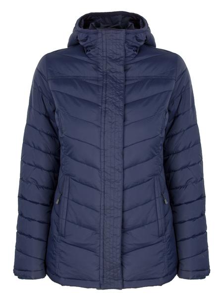 Куртка утепленная женская AS4 синяя
