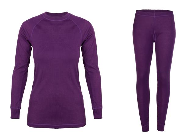 Термобелье женское Monte Grande комплект фиолетовое
